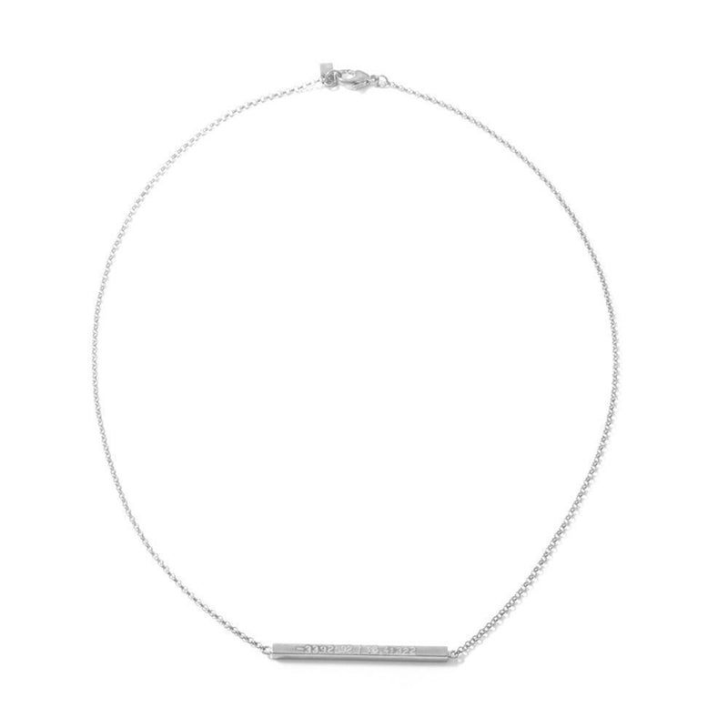 PINNY NECKLACE by Kirsten Goss at SARZA. gold, jewellery, jewelry, KG-NEC-PIN-G, KG-NEC-PIN-S, Kirsten goss, Kirsten Goss Electra, necklace, necklaces, Pinny, silver, ZN1899, ZN1899G
