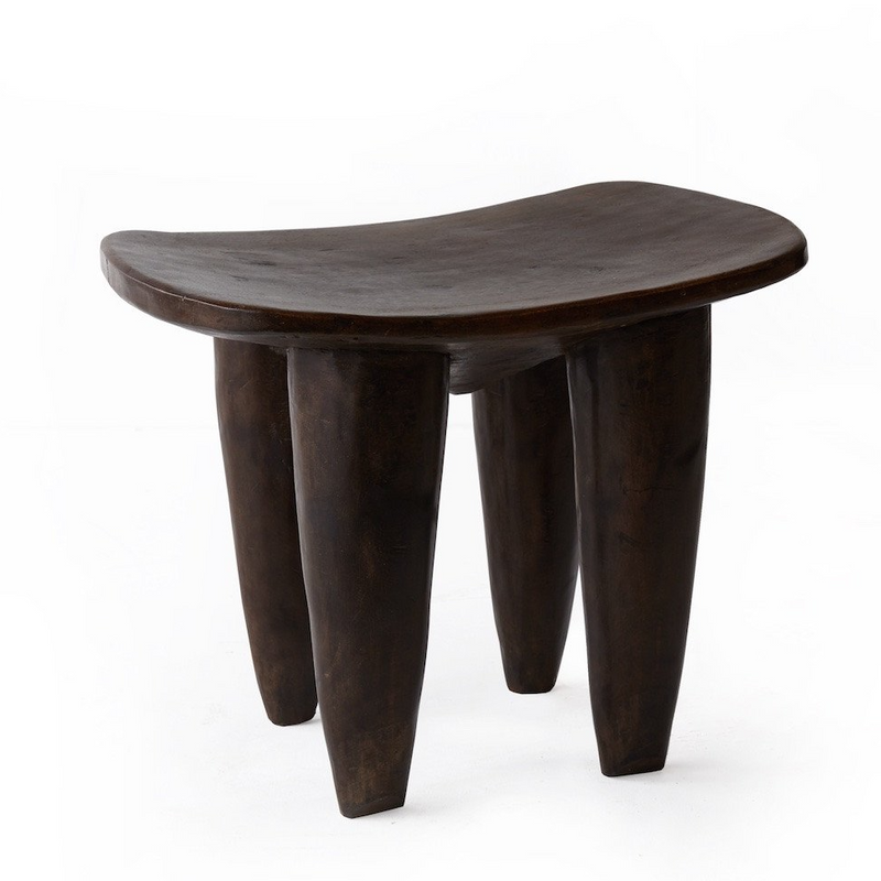 SENUFO STOOL NATURAL