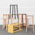 FOUR LEGGED BAR/KITCHEN STOOL by James Mudge at SARZA. Bar stools, Chairs, Four Legged, furniture, James Mudge, stools