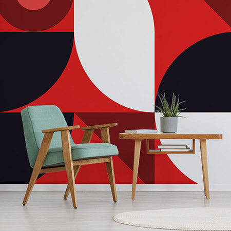Foliage – Cola Pop by Robin Sprong at SARZA. Geometric, Hello Mister Frank, Robin Sprong, Wallpaper