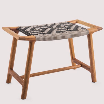 The Russ stool by Vogel Design. Available in a selection of timbers and finishes. The woven base can be customized to create a unique piece to suit your personal style.