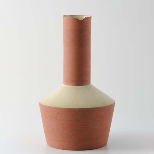 SHOULDER FLAKE RIM VASE by Vorster & Braye at SARZA. decor, flake-rim, homeware, vase, VASES, Vorster&Braye