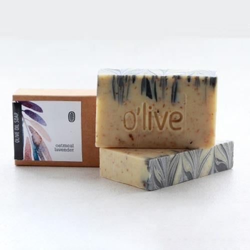 BODY SOAP - OATMEAL AND LAVENDER by O'live at SARZA. bar, body & wellness, body products, homemade soaps, natural, oatmeal and lavender, Olive, soaps