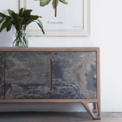 STONE SIDEBOARD by Meyer Von Wielligh at SARZA. cabinets, furniture, Meyer Von Wielligh, sideboards, stone range