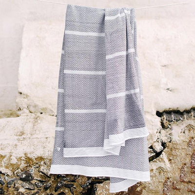 MUNGO USA NEW YORK THUNDER GREY TAWULO TOWEL