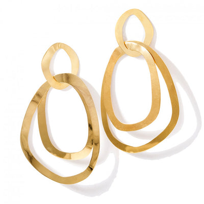 TONICS EARRINGS by Kirsten Goss at SARZA. earrings, jewellery, jewelry, KG-EAR-TON-G, kirsten goss, Tonics, VE038G