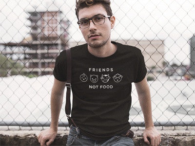 Friends Not Food | Mens Tee