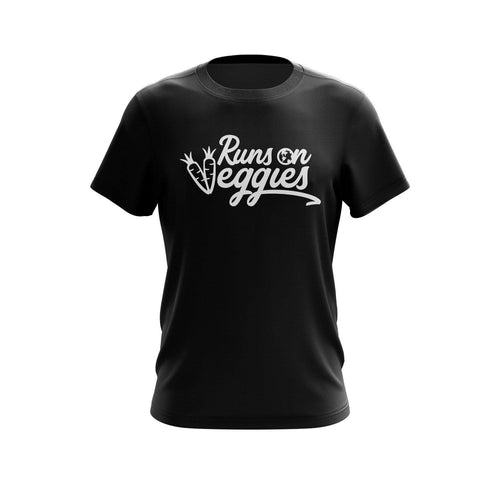 Runs On Veggies | Mens Tee