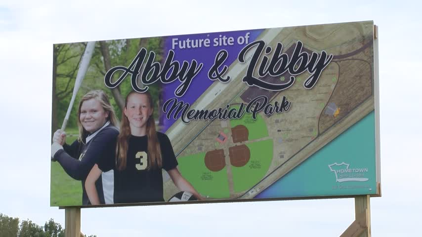 Abby & Libby Memorial Park Sign