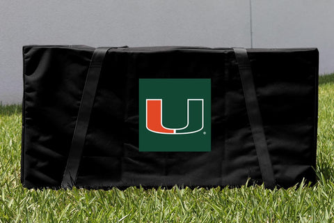 Miami Hurricanes Cornhole Carrying Case Bag