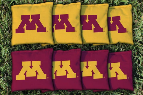 Custom Minnesota Golden Gophers Cornhole Bags