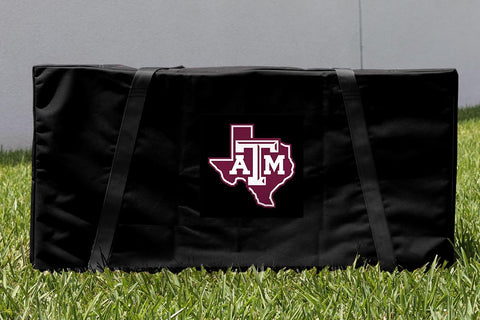 Texas A & M University Cornhole Boards Carrying Case