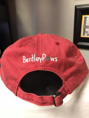 Embroidered Bentley Paws Hat Back