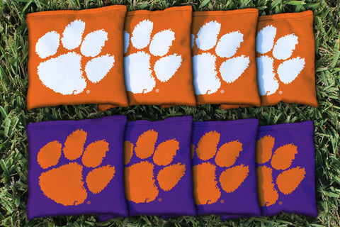 Clemson University All Weather Cornhole Bags