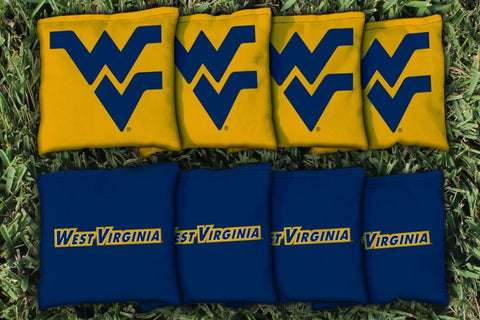 West Virginia All Weather Cornhole Bags