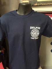 Screen Printed Fire Department Shirt