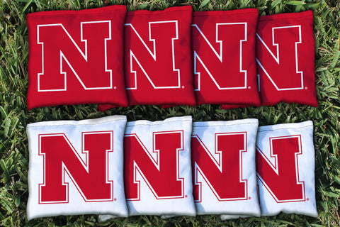 Nebraska All Weather Cornhole Bags
