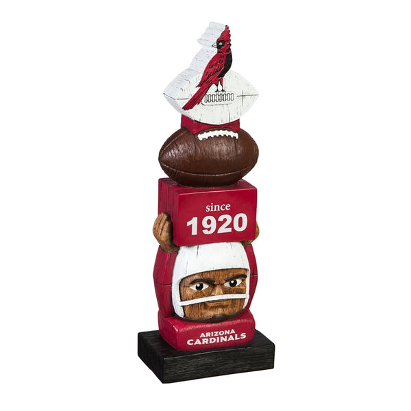 Arizona Cardinals Vintage Football Tiki Totem