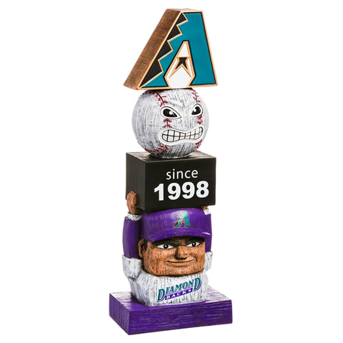 Arizona Diamondbacks Vintage Baseball  Tiki Totem