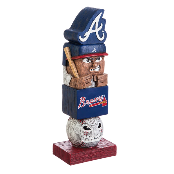 Atlanta Braves Baseball Tiki Totem