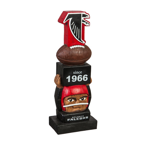 Atlanta Falcons Vintage Football Tiki Totem