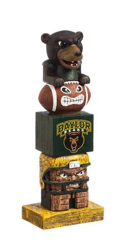 Baylor University NCAA Football Tiki Totem