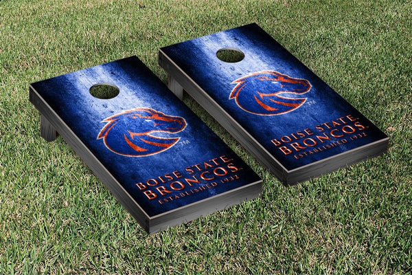Boise State Broncos Cornhole Boards, Custom All Weather Cornhole Bags & Carrying Case Package
