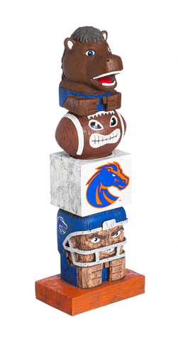 Boise State University NCAA Football Tiki Totem