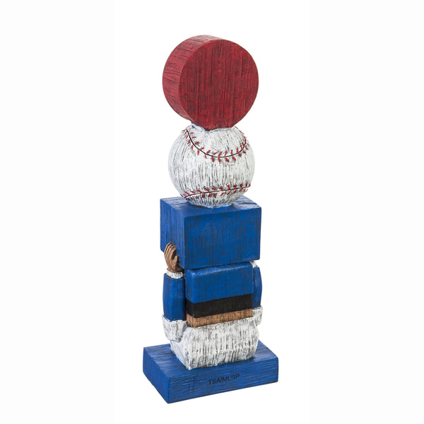 Chicago Cubs Vintage Baseball Tiki Totem back