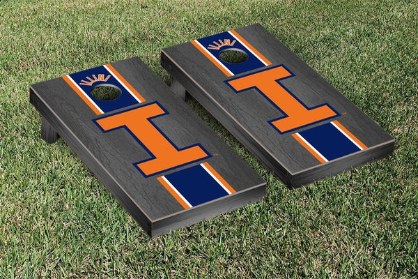 Illinois Cornhole Boards, Custom All Weather Cornhole Bags & Carrying Case Package