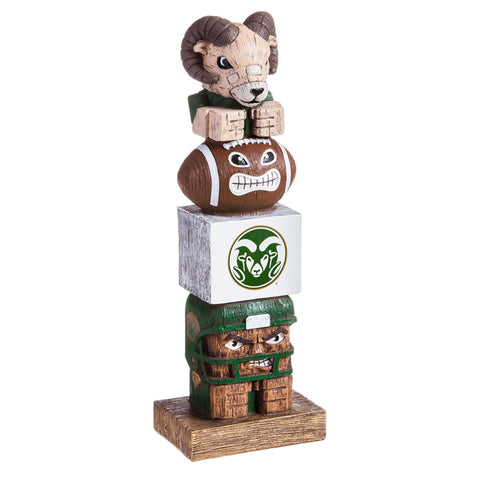 Colorado State University NCAA Football Tiki Totem