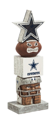 Dallas Cowboys Football Tiki Totem