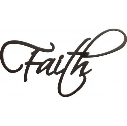 Faith Wooden Wall Word