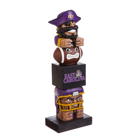 East Carolina State University NCAA Football Tiki Totem