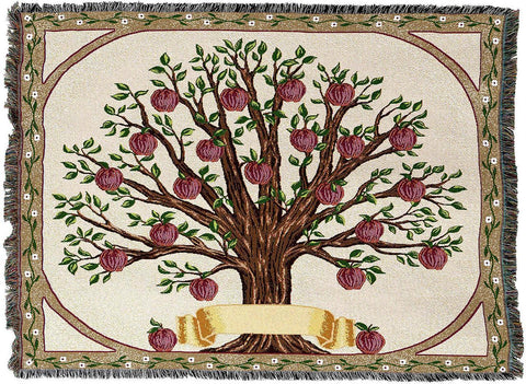 Tapestry Family Tree Afghan