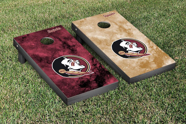 Florida State Cornhole Boards, Custom All Weather Cornhole Bags & Carrying Case Package