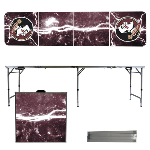 Florida State 2' x 8' Tailgate Pong Table