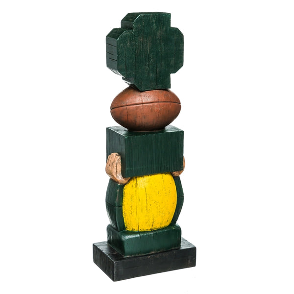 Green Bay Packers Vintage Football Tiki Totem back