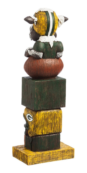 Detroit Lions Vintage Football Tiki Totem back