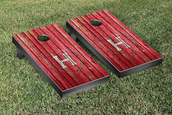 Harvard Cornhole Boards, Custom All Weather Cornhole Bags & Carrying Case Package