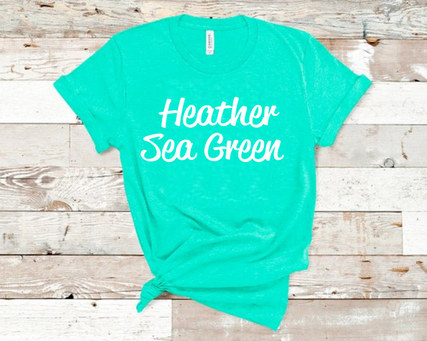 Heather Sea Green Bella Unisex T-Shirt