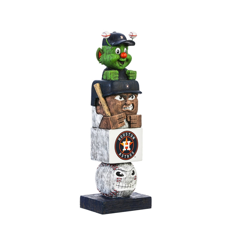 Houston Astros Baseball Tiki Totem