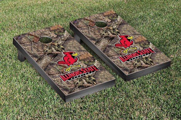 Illinois State Cornhole Boards, Custom All Weather Cornhole Bags & Carrying Case Package