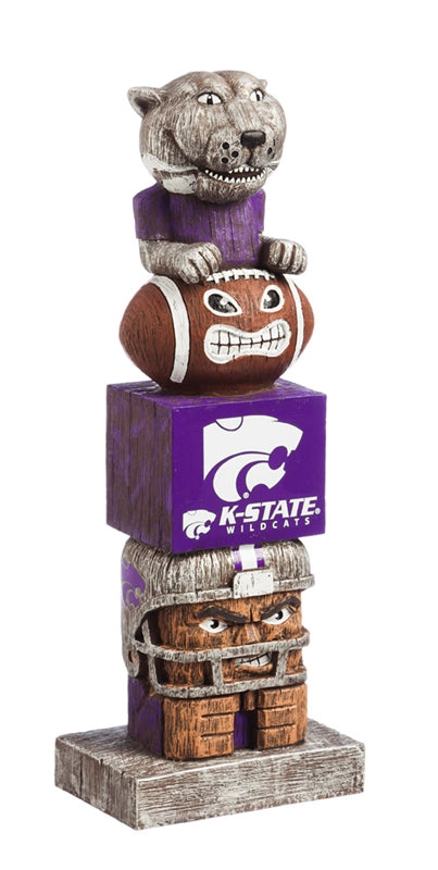 Kansas State University NCAA Football  Tiki Totem