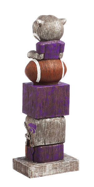 Kansas State University NCAA Football  Tiki Totem back