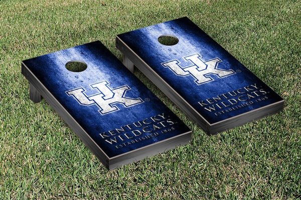 University of Kentucky Cornhole Boards, Custom All Weather Cornhole Bags & Carrying Case Package