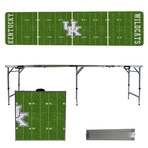 Kentucky Wildcats 2' x 8' Tailgate Pong Table