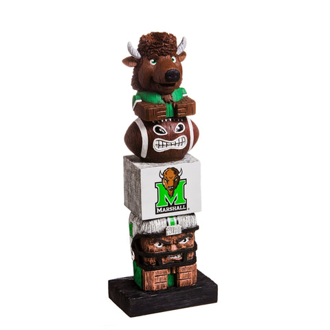 Marshall University NCAA Football Tiki Totem