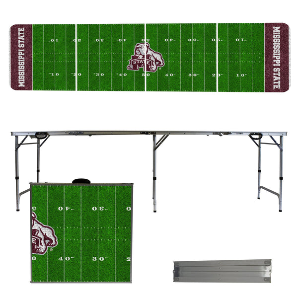 Mississippi State 2' x 8' Tailgate Pong Table