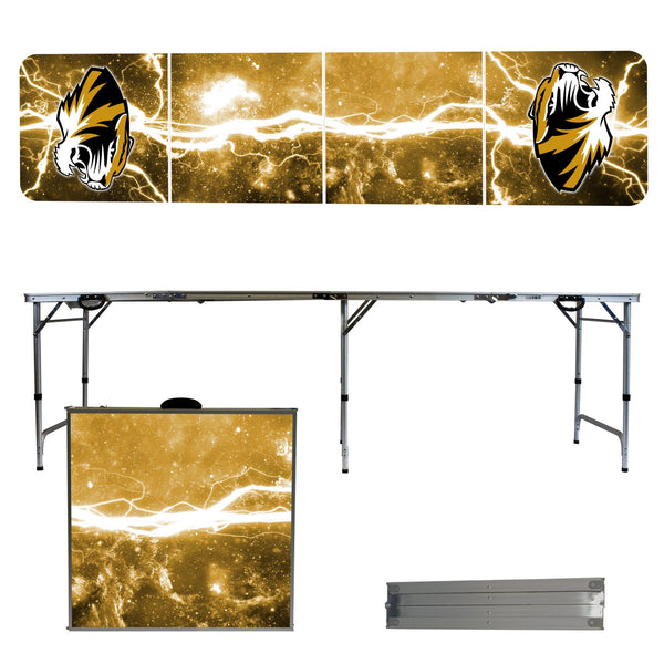 Missouri Tigers 2' x 8' Tailgate Pong Table